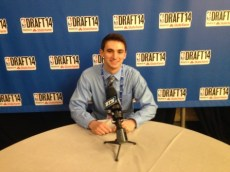 June 2014: I received a media credential to cover the 2014 NBA Draft.
