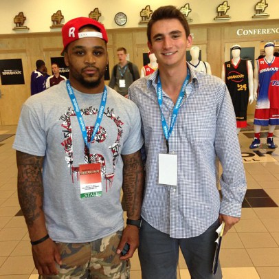 July 2013: I had the chance to speak with 2009 NBA All-Star Jameer Nelson while covering the Reebok Breakout Classic.