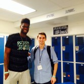 May 2014: I caught up with 2013 NBA lottery pick Nerlens Noel at the Mary Kline Classic.