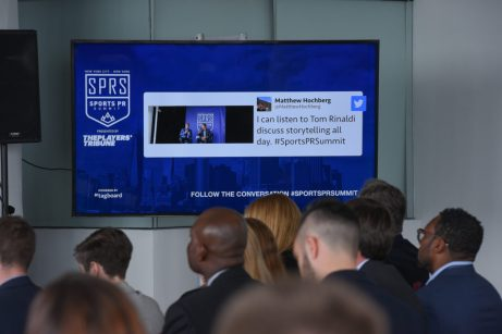 May 2017: I attended the Sports PR Summit hosted by The Players' Tribune and had the pleasure of hearing from the likes of NBA Commissioner Adam Silver, among many other interesting speakers.