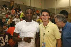 June 2013: I interviewed Dion Waiters, current NBA player at the Mary Kline Classic.