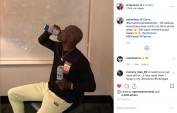 September 2019: Anheuser-Busch, looking to gain market share at the peak of the spiked seltzer craze, works with retired NFL superstar Chad Johnson.
