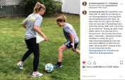 June 2019: Open Goaaal leverages the Women's World Cup by working with U.S. legend Christie Pearce Rampone.