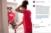 August 2019: Universal Beauty Products capitalizes on the WNBA season and the success of the Las Vegas Aces through their partnership with Tamera Young.