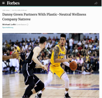 October 2019: Coverage in Forbes of the Green & Natreve relationship.