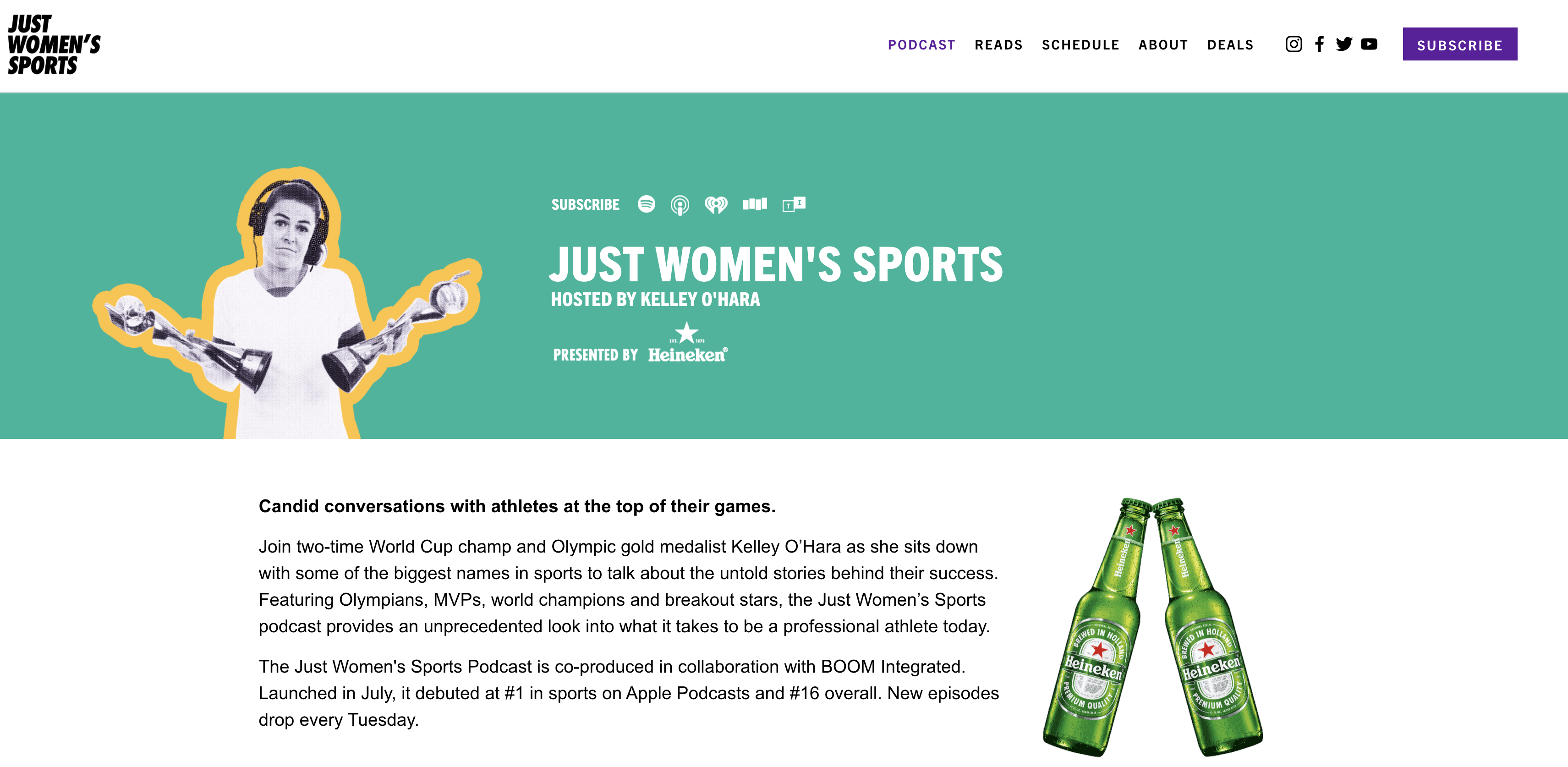 Just Women's Sports podcast